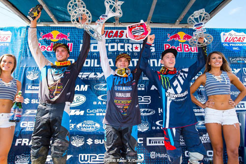 Yamalube/Star Racing Yamaha riders finish 1-2 at Unadilla!